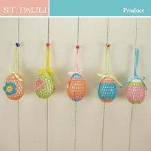 new unique design easter decoration home 3 inch handmade styrofoam easter egg