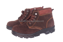 Geniune leather safety shoes for India, promotional safety shoes