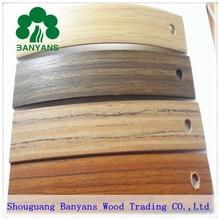 Furniture pvc edge banding tape, high glossy pvc edge banding, good quality pvc edge banding