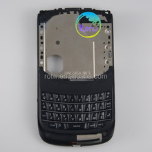 hot sale for blackberry 9800 mobile phone mid housing mid cover