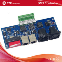 constant current 700ma High-power 3CH dmx512 decoder Controller