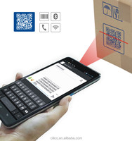 Cilico Android 2D barcode and UHF RFID reader tablet with 3G,wifi,BT,protective cover.