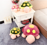 Wholesale Lovely child kids birthday small toys/plush sea turtle/soft baby animals