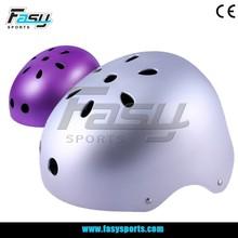 Fasy shining colorful adult bike helmet