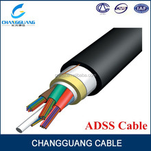 Hot sales High quality fiber optic 6 core outdoor adss cable