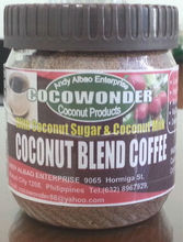 COCONUT BLEND COFFEE: 2 in 1, sugar free, with coconut nectar