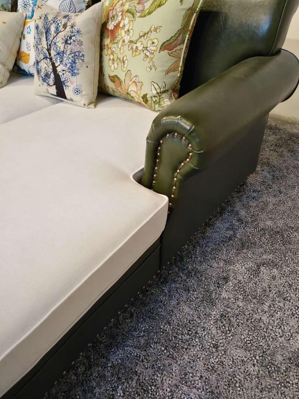 2017 ultimo nuovo disegno moderno divano ad angolo in tessuto ... - Ultimo Disegno Di Divano Ad Angolo