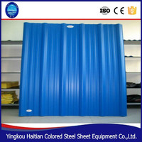 Metal roof tile sheets prices factory direct sale , non asbestos cement roof sheets