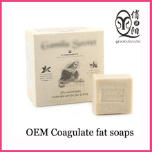 Ewe's milk soap with Goat milk whitening handmade coagulate fat soaps