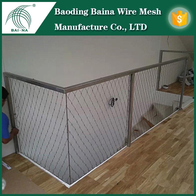 Wire Rope Net For Handrail - Buy Wire Rope Net,Handrail Metal Mesh ...