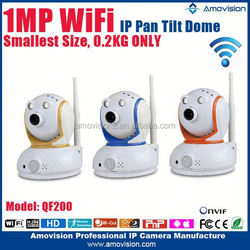 1.0MP CMOS 720P Best Selling Wireless security hd QF200 camera IP