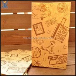 Yiwu 2015 New Arrived Cheap Elmo Large Kraft Paper Gift Bags for Craft Cookies Handmade Travel