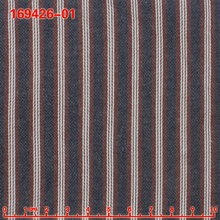 1-side brushing, dobby 100% combed cotton fabric, economic stock fabric