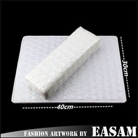 Sexy white Nail art arm rest hand cushion pillow for manicure /we are factory