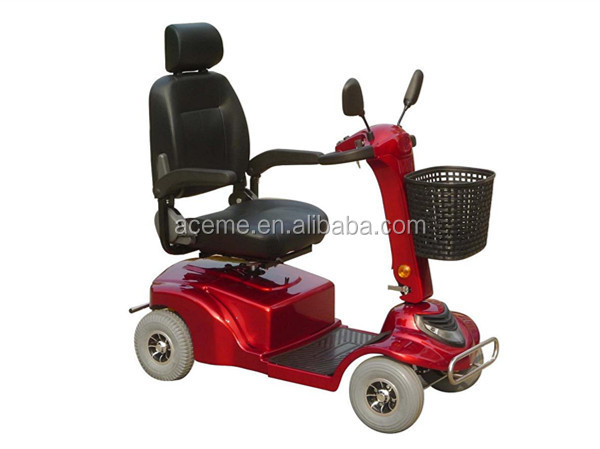 Electric scooter adults china mobility scooter 4 wheel for Motorized mobility scooter for adults