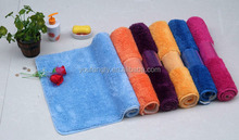 Rubber backed washable rugs