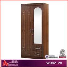 W982-28 Modern, 2015 Latest two door wardrobe/wooden clothes cabinet/bedroom Furniture