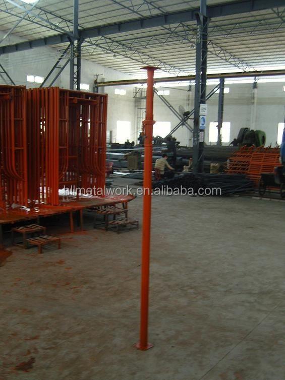 Adjustable Steel Post Shores : Adjustable steel post shoring prop from china buy