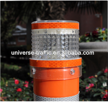 traffic solar lamp/solar light on spring