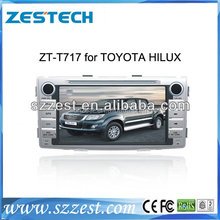 ZESTECH high -tech and screen touch Car radio player for toyota Hilux car radio player with GPS BT 3G DVD STEERING WHEEL CONTROL
