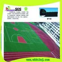 Customize Outdoor basketball courts rubber flooring , floor carpet for sale