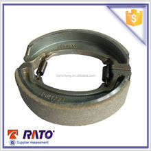 powerful Chinese motorcycle parts GL145 motorcycle brake shoes for HONDA motorcycle