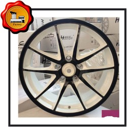 21*10.5 black FORGED 3PC. chorme WHEEL Three color options available ET 0 bolt pattern 139.7pcd