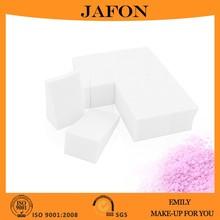 12pcs Trapezoid Beauty Cotton Powder Sponge Puff White