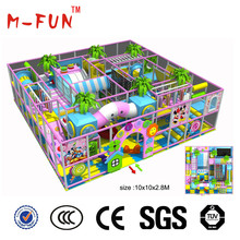 New design funny theme indoor play for kids