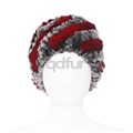 ruso a30454 sombrero de piel de tela escocesa de las niñas lindas sombreros de invierno