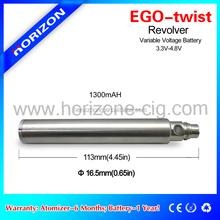 Shenzhen best selling factory price twisting battery variable ego twist ego c twist 1100mah