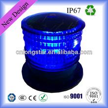 Solar-powered Flashing Beacon ( Steady,Flashing,Double Color,Revolving Can Meet )