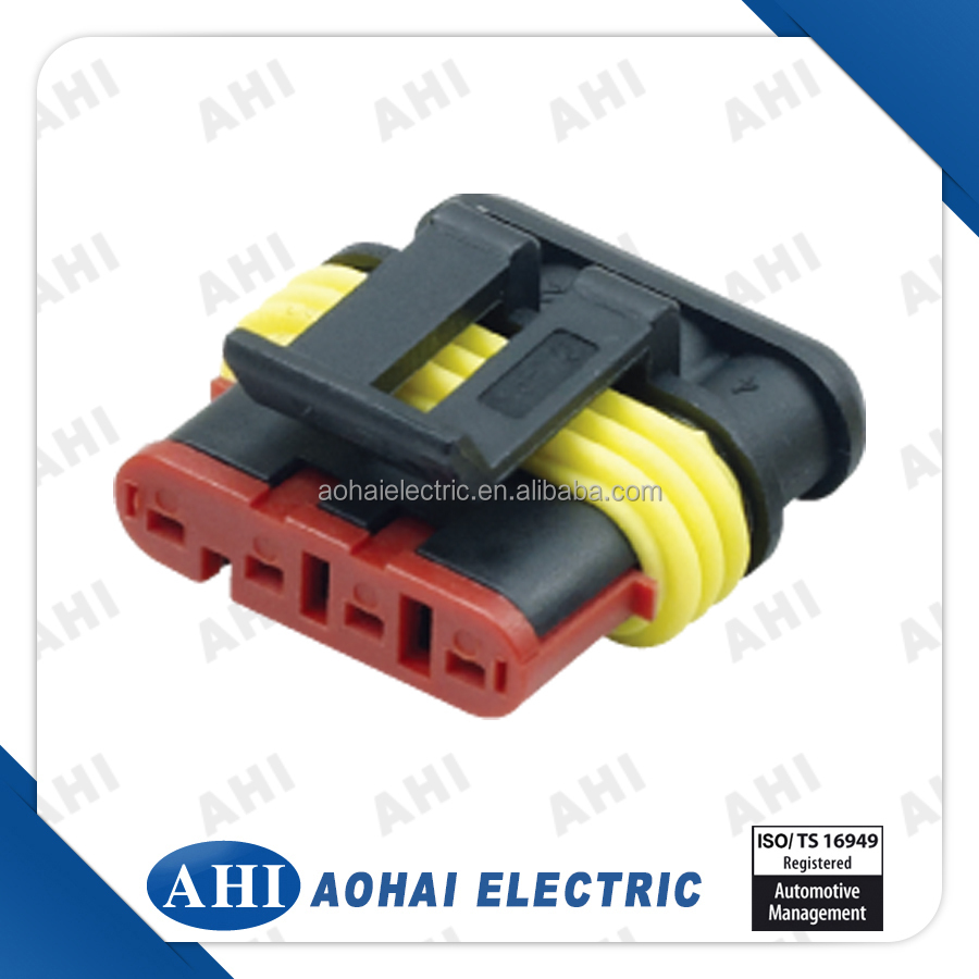 Wiring Harness Connector Types : Pin auto plastic male female waterproof wiring harness