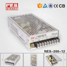 NES 200W 12V 17A Industrial Single Output SMPS AC DC regulated game power supply nes-200-12