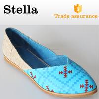 2015 china beautiful jutti fancy rubber soles ladies women flat shoes