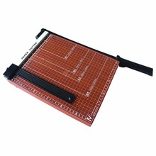 A3 A4 size wooden base manual industrial paper cutter