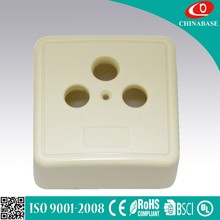 Universal French type wall sockets