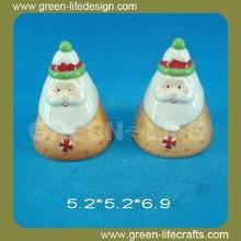 Christmas cookie design salt and pepper cruet