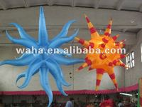 Unusual inflatable star for party/stage/event/christmas decoration