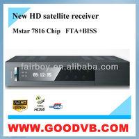 digital satellite receiver frequency