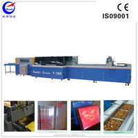 T-120 plastic film packaging machinery for food book
