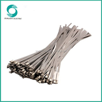 high tensile strength 304 stainless steel electrical tie cable