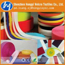 100% adhesiva de nylon gancho y cinta del lazo