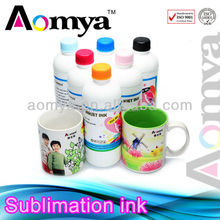 Vivid magenta Sublimation ink for workforce 30 printer for printing personal products