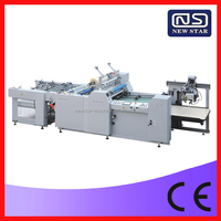 YFMA-800A automatic plastic film laminating machine with CE standard