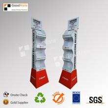 Customized Corrugated Free Stand Cardboard Display