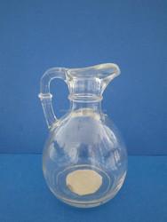 oil cruet glass bottle with duck mouth handled