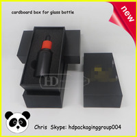 china supplier empty dropper bottle hot stamping gift box