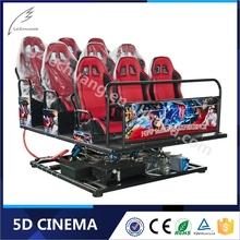 Most Popular 8D/9D/Xd Cinema Arcade Games Machines Vedio Game 5D Motion Cinema