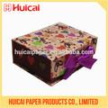 Cajas de carton decorativas de papel personalizado mayorista